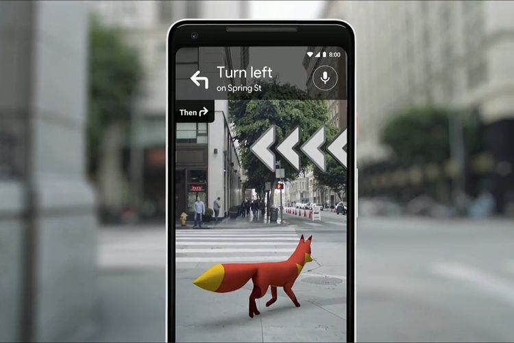 Google I/O 2018: Google Maps Manfaatkan Augmented Reality (AR)