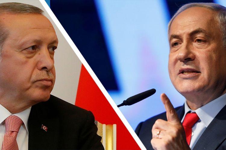 """Perang """"Twitwar"""" Erdogan vs Netanyahu Berlangsung Sengit dan Panas"""