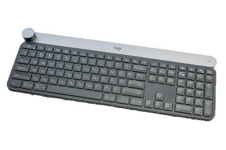 Logitech Craft Wireless Keyboard: Utamakan Kenyamanan Mengetik