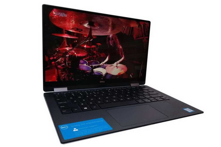 Dell XPS 13 9365: Miliki Bezel Tipis Bikin Layarnya Lebih Luas