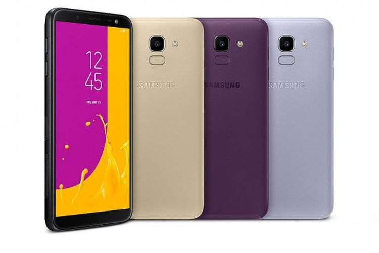 Samsung Resmi Luncurkan Galaxy J6 dan Galaxy J4, Inilah Spesifikasinya