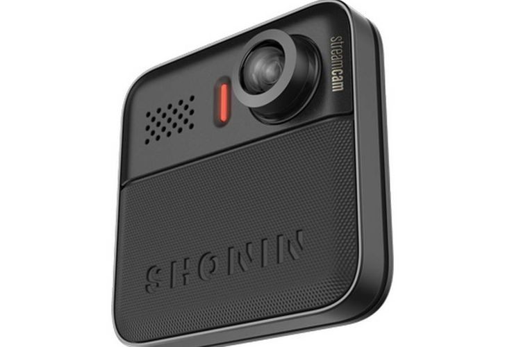 Shonin Streamcam Compact Wearable Camera: Menemani Anda di Mana Saja