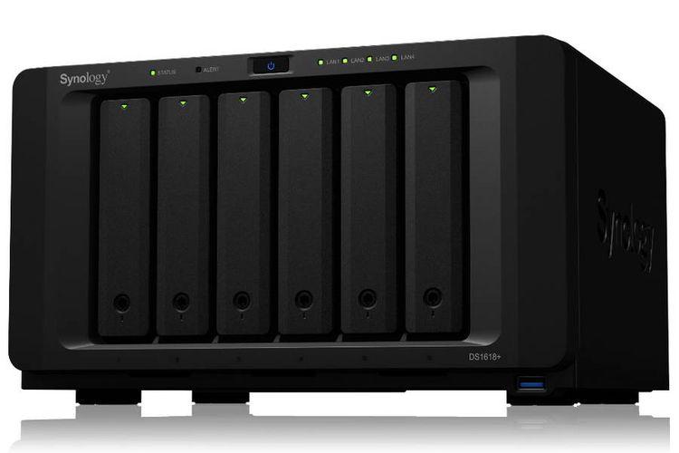 Synology DiskStation DS1618+, Produk NAS seri Plus Paling Kencang