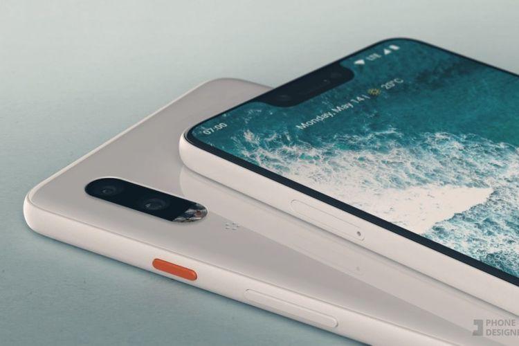 Google akan Luncurkan Ponsel Pixel 3 di New York Bulan Depan