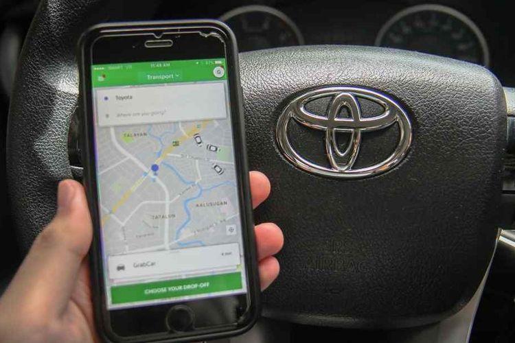 Toyota Tanamkan Investasi Rp13 Triliun ke Grab  untuk Ekspansi Bisnis