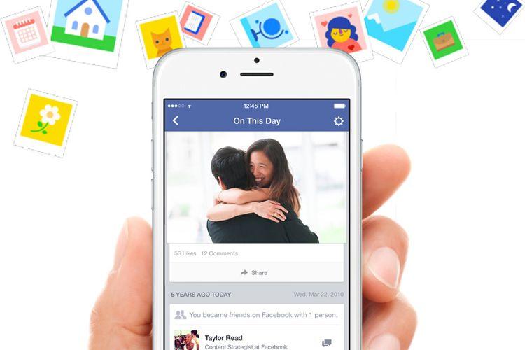 """Facebook Memories, Fitur untuk Ingat Kenangan """"Nostalgia"""" di Masa Lalu"""