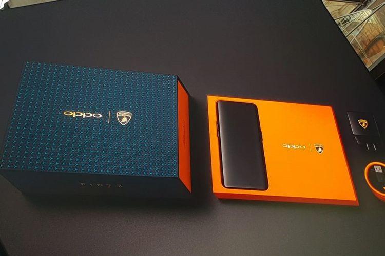 Oppo Find X Lamborghini Tawarkan Memori 512 GB dan Teknologi VOOC