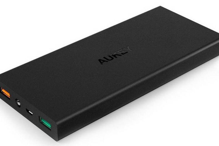 AUKEY PB-T9: Pengisian Baterai Mendukung Qualcomm Quick Charge 3.0