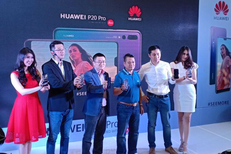 Huawei P20 Pro, Ponsel dengan Tiga Kamera Belakang Hadir di Tanah Air