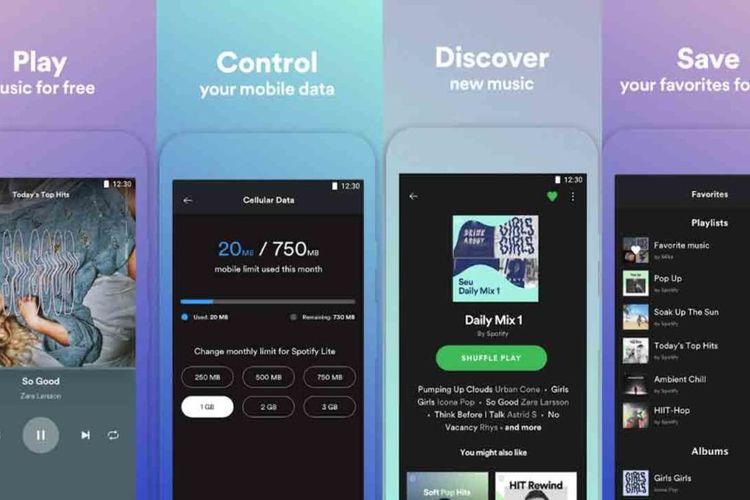 Spotify Luncurkan Aplikasi Spotify Versi Lite, Memorinya Hanya 15 MB