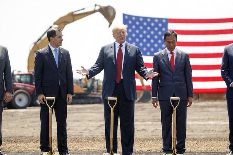 Foxconn Resmi Bangun Pabrik LCD di AS dengan Investasi USD10 Miliar