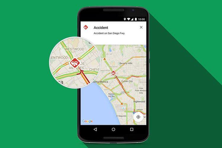 Jiplak Waze, Pengguna Google Maps Bisa Laporkan Kondisi Lalu Lintas