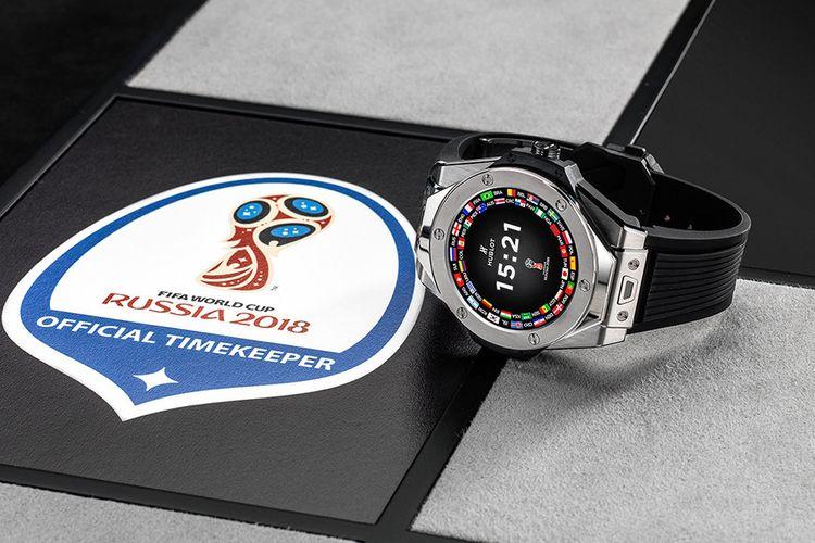 Nih! Kecanggihan Smartwatch Hublot Milik Wasit Piala Dunia 2018
