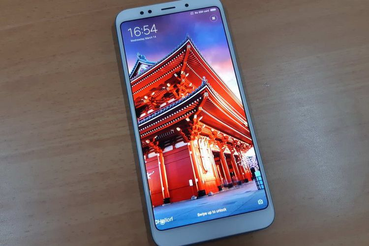 Xiaomi Redmi 5 Plus: Full Screen Display dengan Rasio Layar 18:9