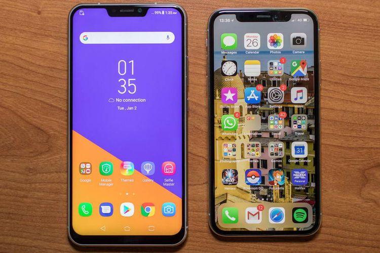 Ponsel-ponsel Terkini yang Dituduh Meniru Desain dari iPhone X
