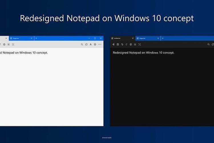 Ini Fitur-fitur Tebaru Notepad di Windows 10, Bisa Zoom Teks