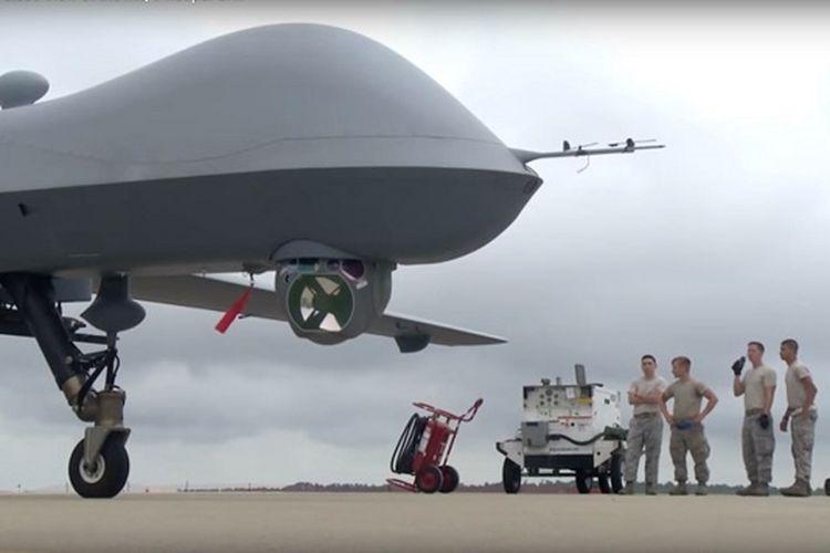Gawat! Hacker Curi Data Rahasia Drone Militer MQ-9 Reaper Milik AS