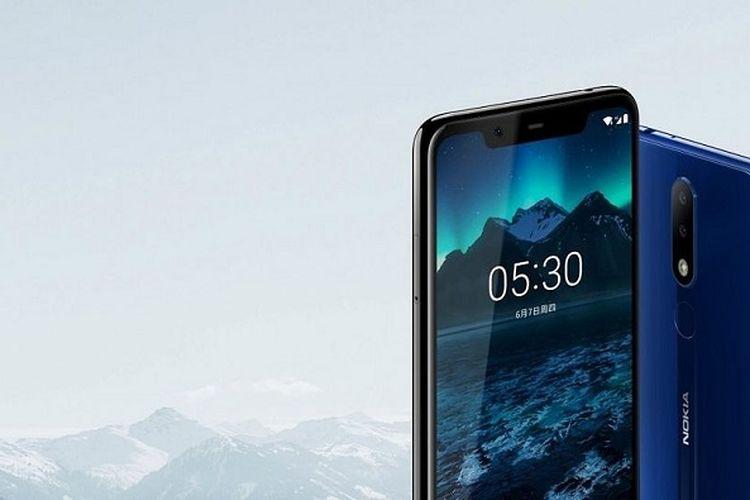 Mirip iPhone X, Smartphone Nokia X5 Punya Poni dan Kamera Ganda