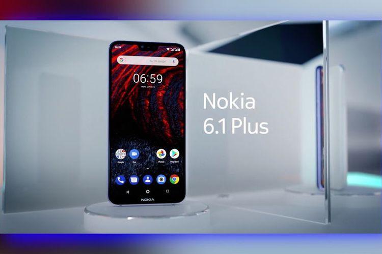 HMD Global Banderol Android One Nokia 6.1 Plus senilai Rp4 Jutaan