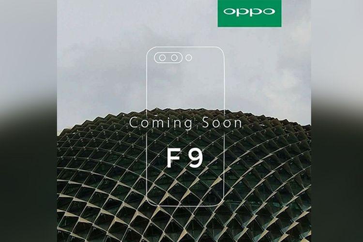Oppo akan Luncurkan Smartphone Oppo F9, Ini Bocoran Spesifikasinya