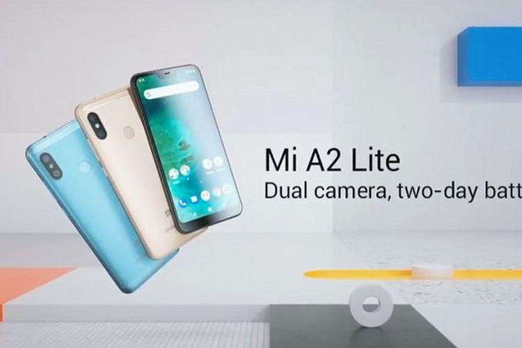Perbandingan Spesifikasi Xiaomi Mi A2, Mi A2 Lite, dan Mi A1
