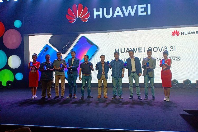 Meluncur di Indonesia, Ini Harga Resmi Smartphone Huawei nova 3i