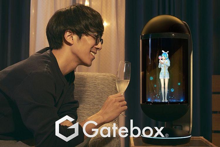 LINE Buka Pemesanan Gatebox, Robot Virtual Canggih Pertama di Dunia