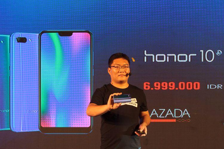 Honor 10 Resmi Hadir di Indonesia dan Mulai Bisa Dipesan Hari Ini