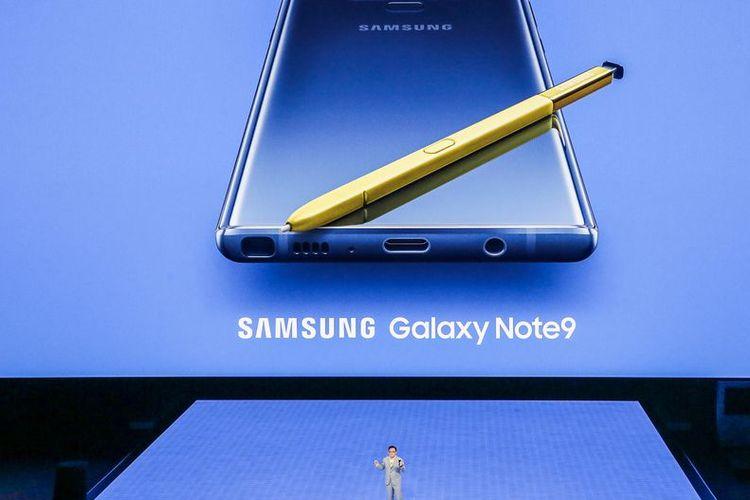 Samsung Resmi Luncurkan Galaxy Note 9 dengan Kamera Berteknologi AI