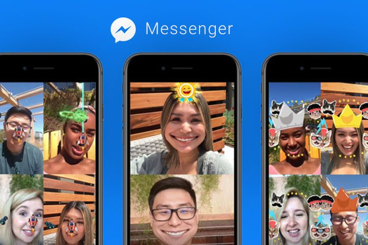 Facebook Hadirkan Dua Game Augmented Reality (AR) di Messenger