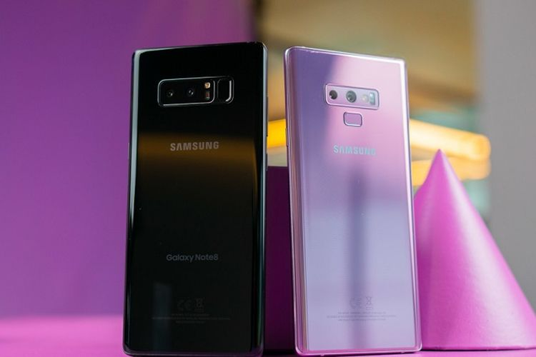 Perbedaan Spesifikasi Samsung Galaxy Note 9 vs Galaxy Note 8