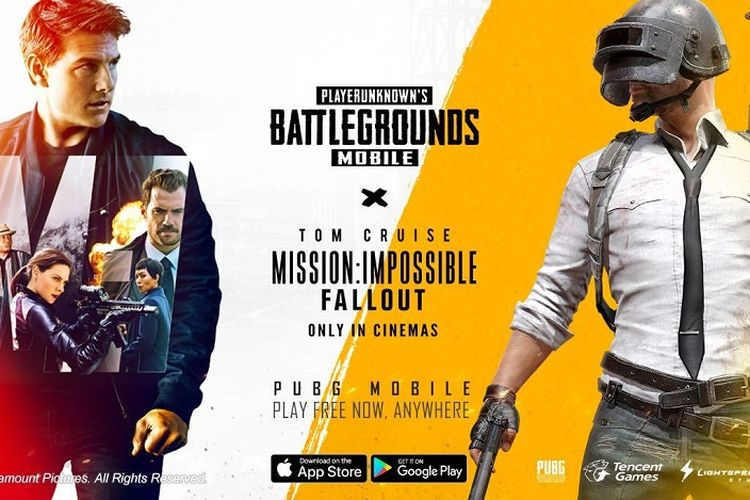 "PUBG MOBILE Tawarkan Konten Gaming ""Mission Impossible: Fallout"""