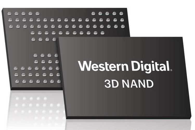 WD Produksi Chip 3D NAND dengan Kepadatan Monolitik Tertinggi di Dunia