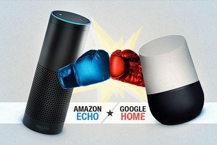 Peta Persaingan Amazon, Google dan Alibaba di Pasar Speaker Pintar