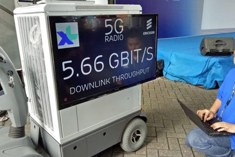 XL Uji Coba Jaringan Internet 5G, Kecepatannya Tembus 20 Gbps