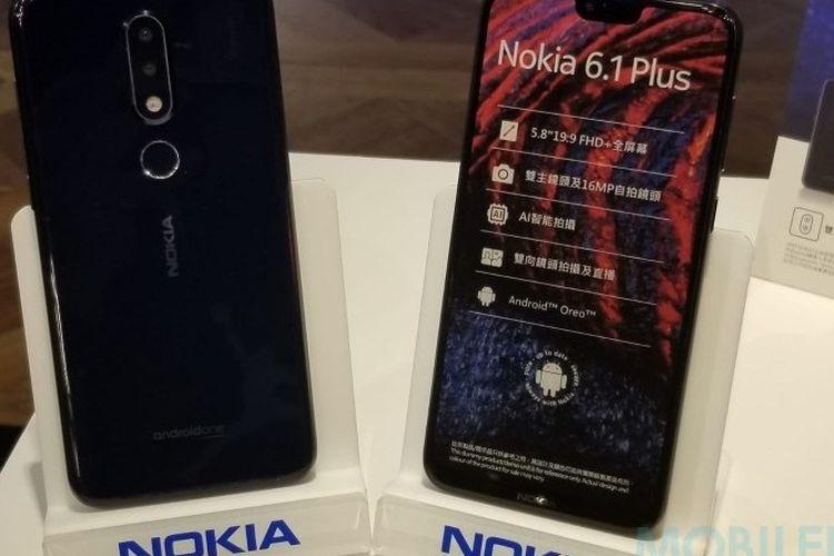 Ponsel Nokia 6.1 Plus akan Hadir di Indonesia pada 6 September 2018?