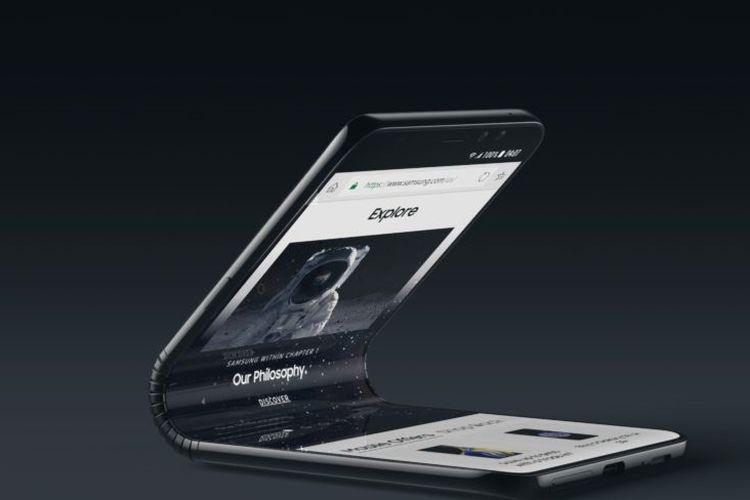 Bos Samsung Konfirmasi Galaxy F adalah Lini smartphone Lipat Samsung