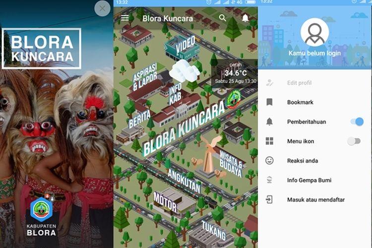 Aplikasi Blora Kuncara Permudah Masyarakat Dapatkan Berbagai Informasi