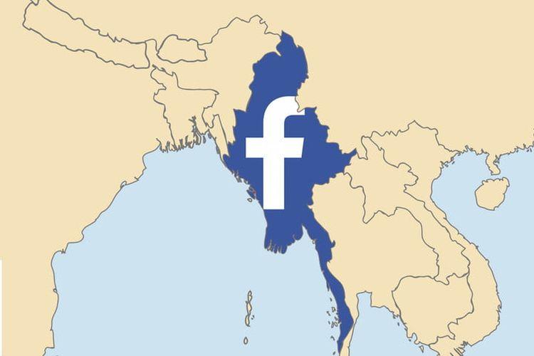 Sebarkan Konten Negatif, Facebook Blokir Akun Pemimpin Militer Myanmar