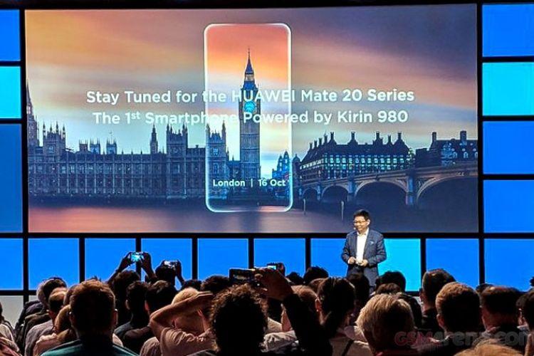 Huawei Konfirmasi Peluncuran Ponsel Mate 20 di London pada 16 Oktober