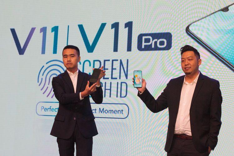 Vivo Resmi Luncurkan V11 Pro dengan Screen Touch ID di Indonesia