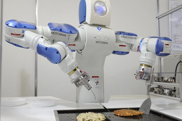 Robot AI akan Gantikan Setengah dari Pekerjaan Manusia, Kapan?
