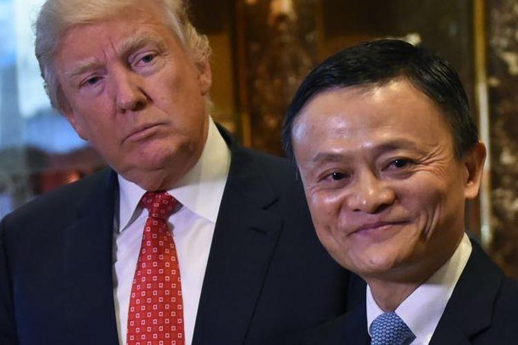 Gara-gara Trump, Alibaba Batal Buka Sejuta Lapangan Kerja di AS