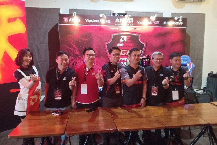 AMD Indonesia Hadirkan Turnamen eSport 2018 Bergenre Fighting