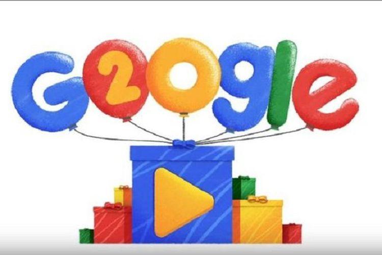 Rayakan Ulang Tahun, Google Tampilkan Video Animasi Google Doodle