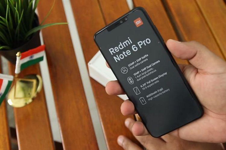 Xiaomi Redmi Note 6 Pro Tawarkan 4 Kamera Berteknologi AI, Harganya?
