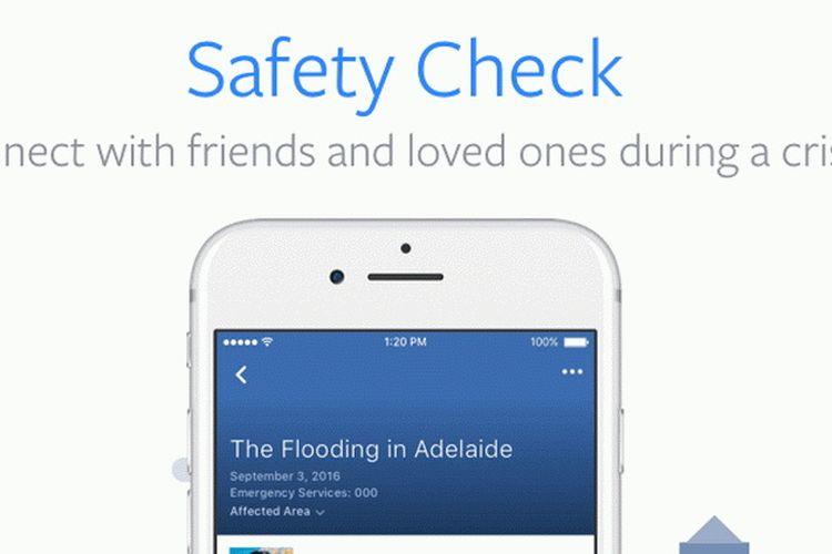Cara Mengecek Kondisi Teman yang Terkena Gempa Palu Lewat Facebook