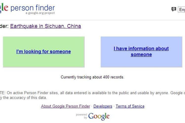 Cara Gunakan Google Person Finder untuk Cari Korban Gempa Palu