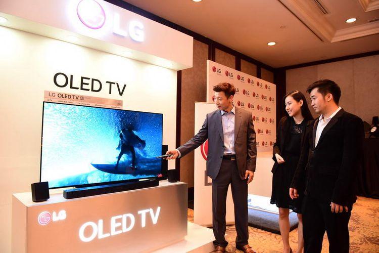 LG 55B8, TV OLED 4K HDR Terjangkau dengan Harga 25 Juta Rupiah