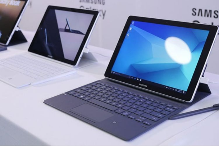 Tablet Samsung Galaxy Book 2 Gunakan Windows 10 dan Snapdragon 850